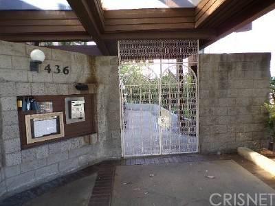 436 E Palm Avenue #107, Burbank, CA 91501 (#SR21132860) :: Blake Cory Home Selling Team