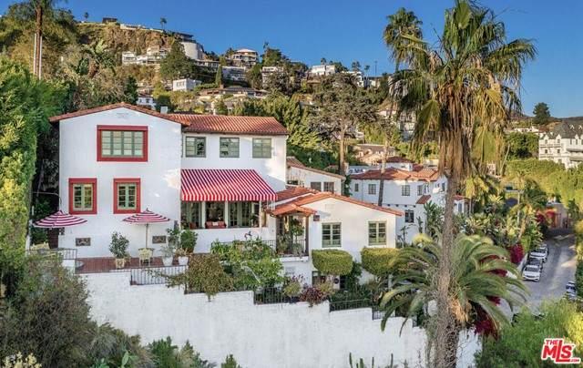 8251 Roxbury Road, Los Angeles (City), CA 90069 (#21750124) :: Blake Cory Home Selling Team