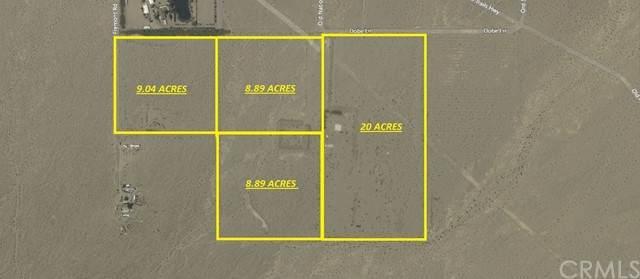 47555 Dobe, Newberry Springs, CA 92365 (#CV21132965) :: Compass