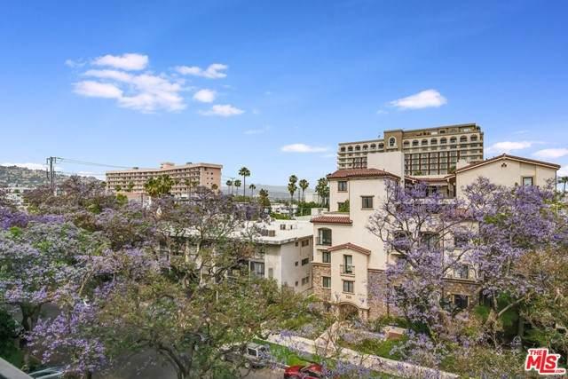 321 N Oakhurst Drive #506, Beverly Hills, CA 90210 (#21749626) :: Team Tami