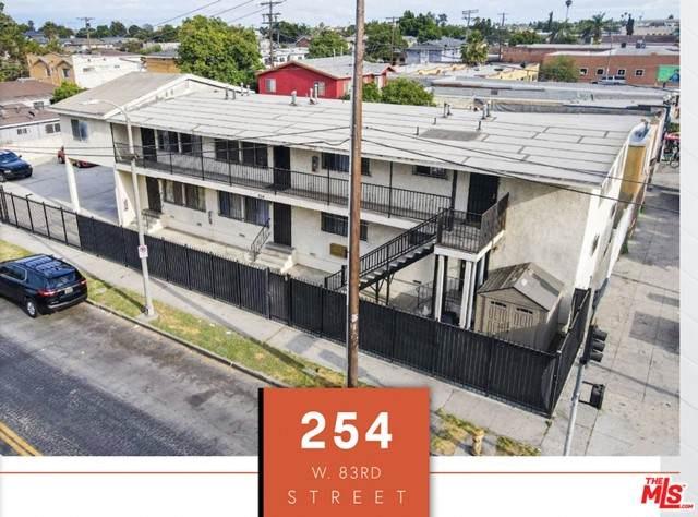 254 W 83Rd Street, Los Angeles (City), CA 90003 (#21751218) :: Team Tami
