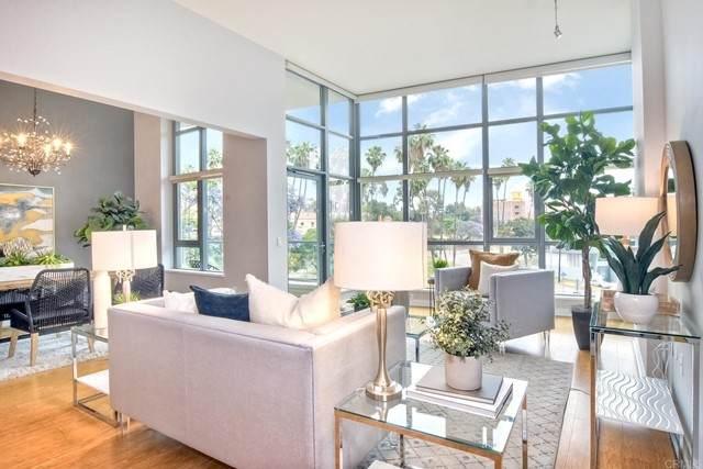 1441 9Th Avenue #102, San Diego, CA 92101 (#PTP2104311) :: Blake Cory Home Selling Team