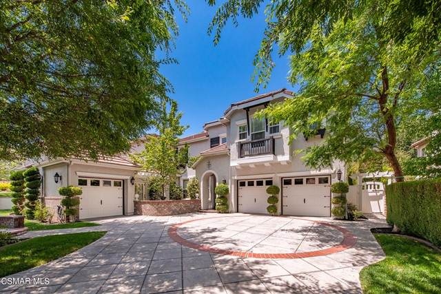 595 Rustic Hills Drive, Simi Valley, CA 93065 (#221003373) :: COMPASS