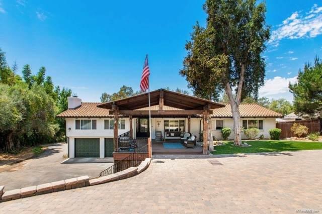 210 Rancho Camino, Fallbrook, CA 92028 (#NDP2107160) :: Compass