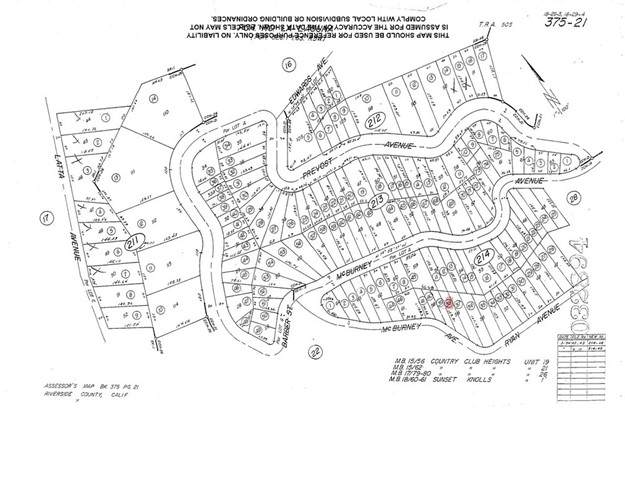 0 Mc Burney Avenue, Lake Elsinore, CA 92530 (#SW21133676) :: Pam Spadafore & Associates