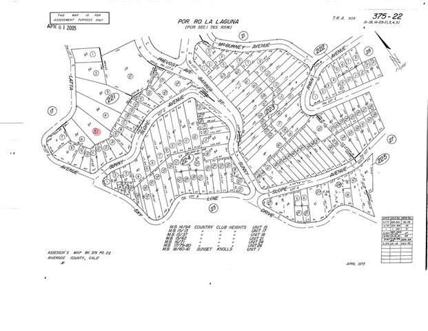 0 Latta Avenue, Lake Elsinore, CA 92530 (#SW21133679) :: Pam Spadafore & Associates