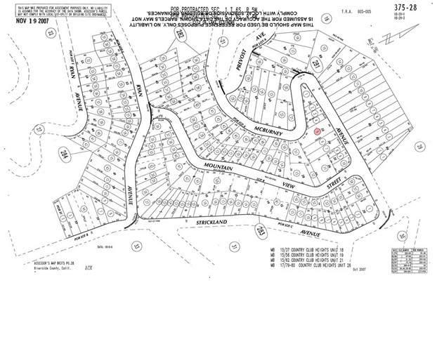 0 Mcburney Avenue, Lake Elsinore, CA 92530 (#SW21133697) :: Holmes Muirhead Team at Reviron Realty
