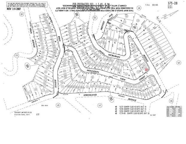 0 Mcburney Avenue, Lake Elsinore, CA 92530 (#SW21133698) :: Holmes Muirhead Team at Reviron Realty