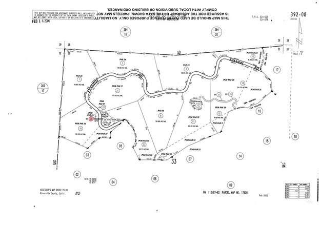 0 Evandel Road, Murrieta, CA 92562 (#SW21134058) :: Holmes Muirhead Team at Reviron Realty