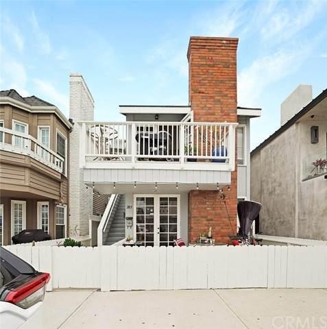 205 30th Street #1, Newport Beach, CA 92663 (MLS #OC21132658) :: CARLILE Realty & Lending