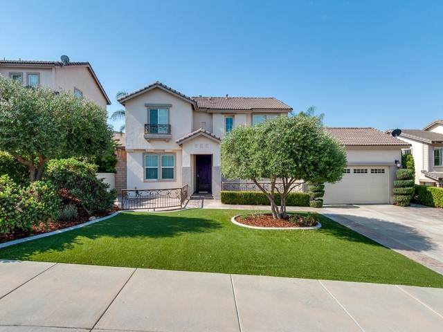 27747 Tate Road, Menifee, CA 92585 (#219063891PS) :: Mint Real Estate