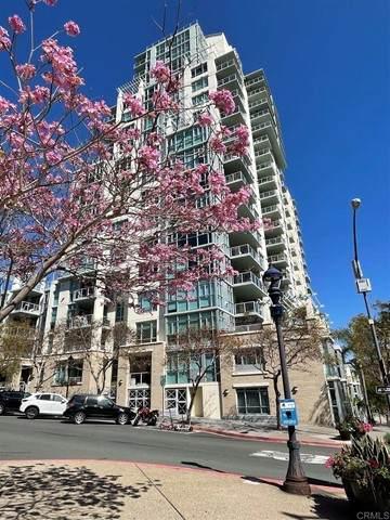 850 Beech Street #614, San Diego, CA 92101 (#NDP2107250) :: Compass