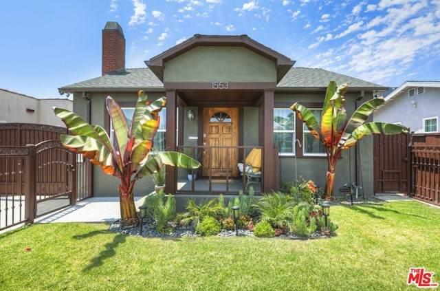 1553 S Burnside Avenue, Los Angeles (City), CA 90019 (#21751888) :: Team Tami