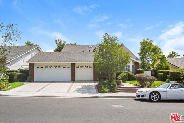 25468 Via Escovar, Valencia, CA 91355 (#21752586) :: Powerhouse Real Estate