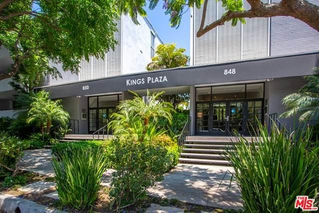 850 N Kings Road #302, West Hollywood, CA 90069 (#21752718) :: Jett Real Estate Group