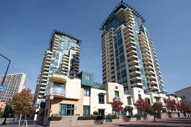 555 Front St #703, San Diego, CA 92101 (#210017505) :: A|G Amaya Group Real Estate
