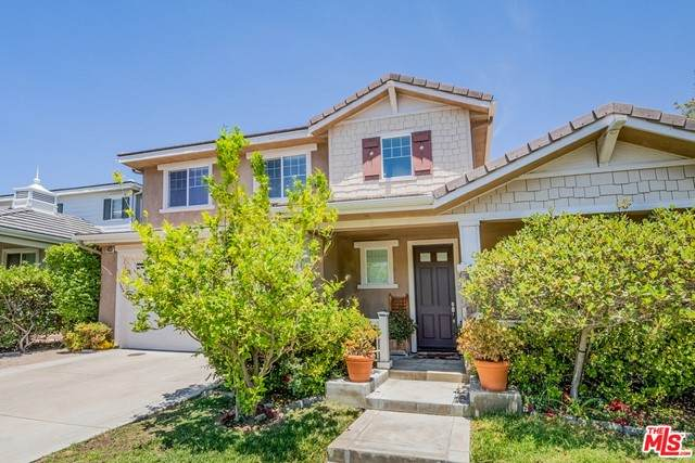 19631 Alyssa Drive, Santa Clarita, CA 91321 (#21757664) :: Doherty Real Estate Group