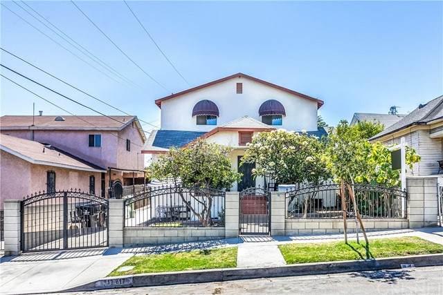 817 N Marianna Avenue, East Los Angeles, CA 90063 (#SR21148885) :: Jett Real Estate Group