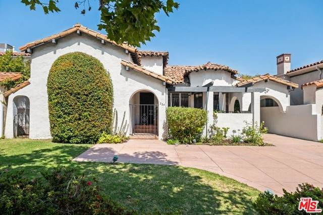 324 S Mccarty Drive, Beverly Hills, CA 90212 (#21757840) :: Team Tami