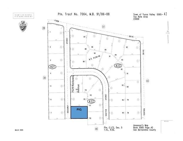 7541 Rockaway Avenue, Yucca Valley, CA 92284 (#JT21138779) :: Compass