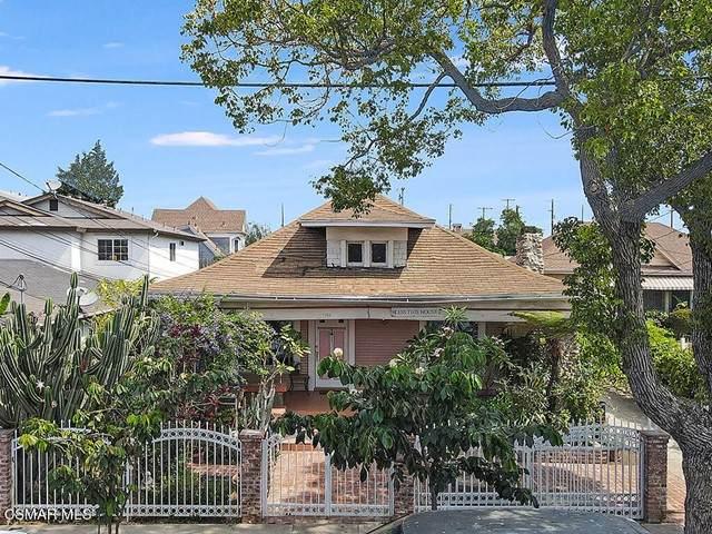 1415 35th Place, Los Angeles (City), CA 90018 (#221003793) :: Latrice Deluna Homes