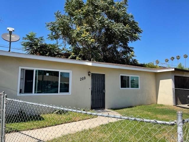 205 W 12th Street, Pomona, CA 91766 (#DW21169063) :: Latrice Deluna Homes