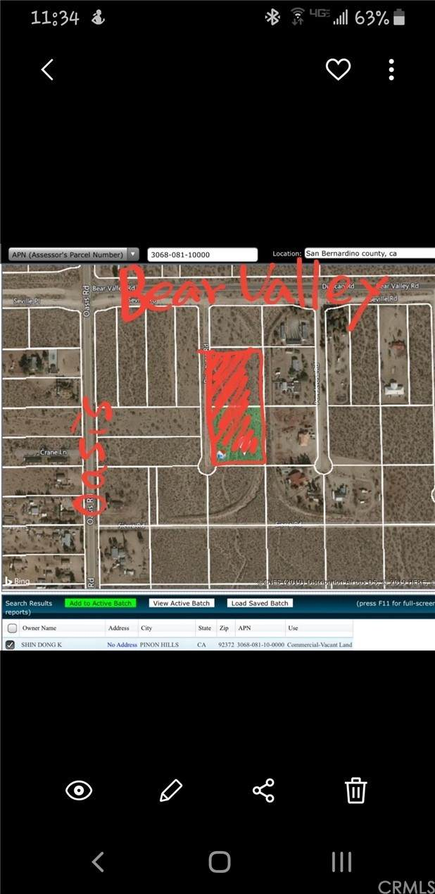 0 Primavera Road, Pinon Hills, CA 92372 (#CV21214799) :: Koster & Krew Real Estate Group | Keller Williams