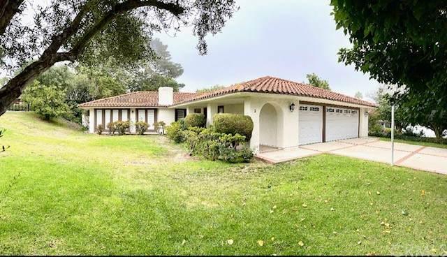 2 Misty Acres Road, Rolling Hills Estates, CA 90274 (#OC21191004) :: Millman Team