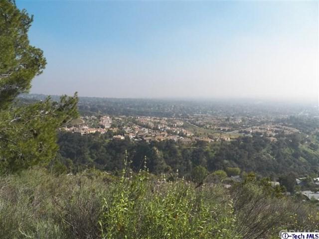 0 Rising Hill/El Prieto Road, Altadena, CA 91001 (#317001775) :: Fred Sed Group