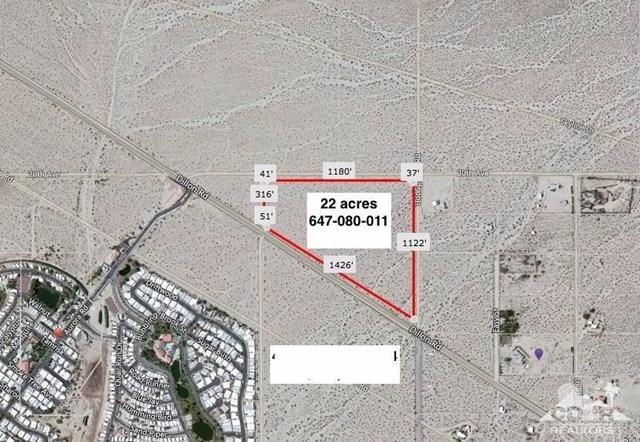 22 Acres Dillon & Hot Springs, Desert Hot Springs, CA 92241 (#217007214DA) :: Go Gabby