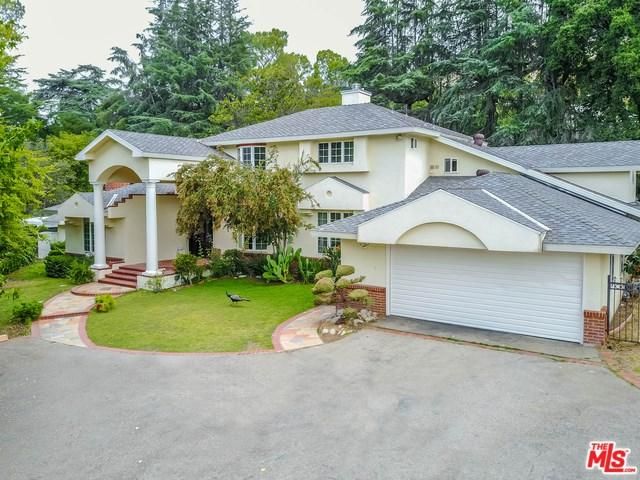 925 Vista Del Valle Road, La Canada Flintridge, CA 91011 (#17270562) :: Fred Sed Realty