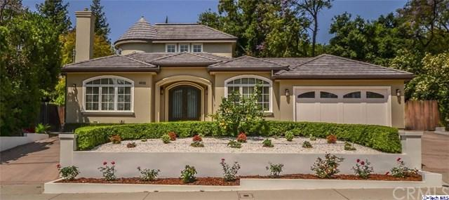 4935 Oakwood Avenue, La Canada Flintridge, CA 91011 (#317006919) :: The Brad Korb Real Estate Group