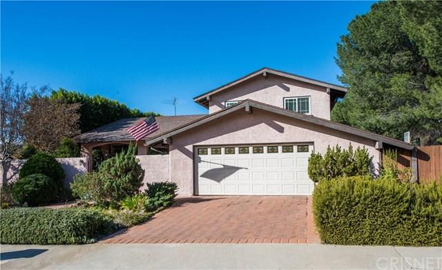 16921 Colven Road, Granada Hills, CA 91344 (#SR17270714) :: Fred Sed Realty