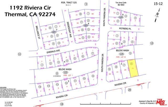 1192 Riviera Circle, Thermal, CA 92274 (#18299130) :: The Laffins Real Estate Team