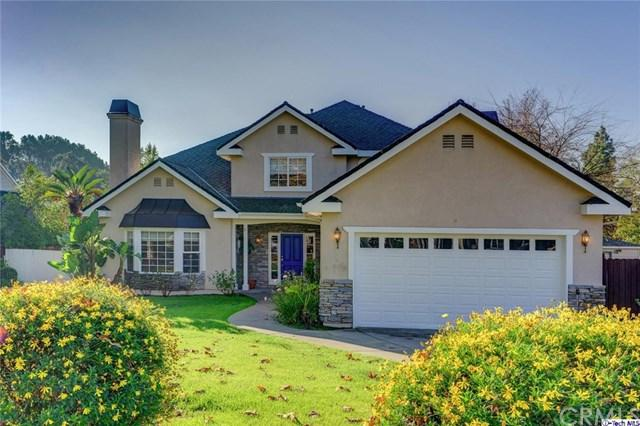 332 Baptiste Way, La Canada Flintridge, CA 91011 (#318000159) :: The Brad Korb Real Estate Group