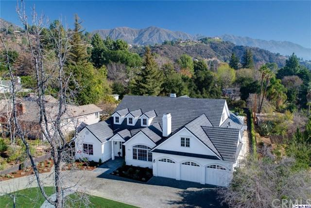 5012 Princess Anne Road, La Canada Flintridge, CA 91011 (#318000160) :: Fred Sed Realty
