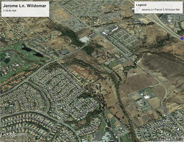 0 Jerome Lane, Wildomar, CA 92595 (#SW18013615) :: Lloyd Mize Realty Group