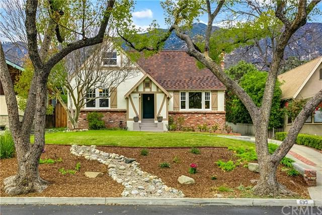 693 W Grandview Avenue, Sierra Madre, CA 91024 (#AR18048805) :: Realty Vault