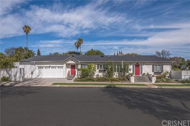 4231 W National Avenue, Toluca Lake, CA 91505 (#SR18064739) :: The Brad Korb Real Estate Group
