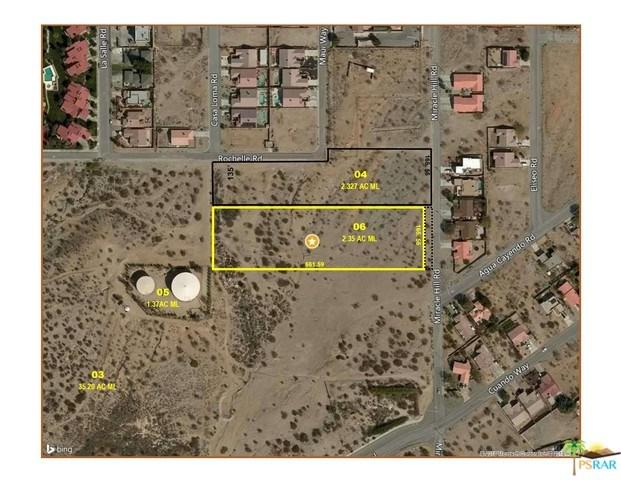 0 Miracle Hill, Desert Hot Springs, CA 92240 (#18347428PS) :: The Laffins Real Estate Team