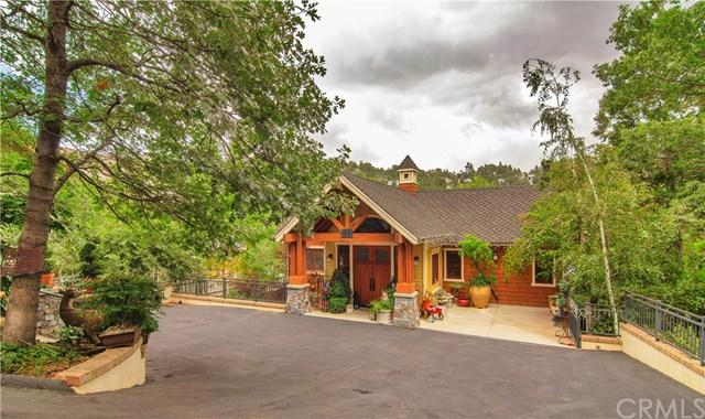 859 Ridge Road, Lake Arrowhead, CA 92352 (#EV18168731) :: Angelique Koster
