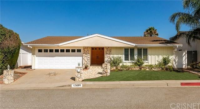 17460 Tuscan Drive, Granada Hills, CA 91344 (#SR18198941) :: Z Team OC Real Estate