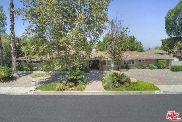 4301 Coronet Drive, Encino, CA 91316 (#18375858) :: Z Team OC Real Estate