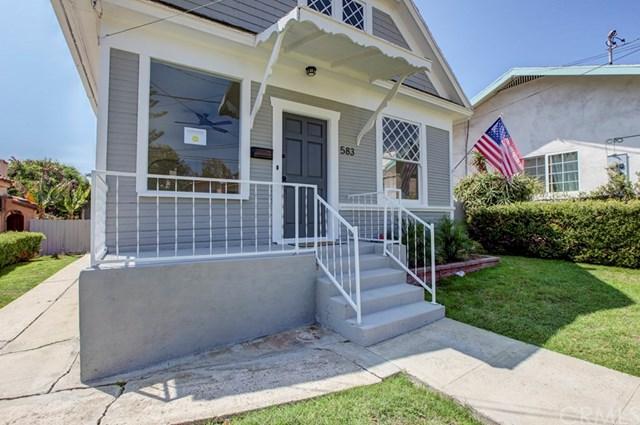 583 W 1st Street, San Pedro, CA 90731 (#OC18203927) :: Fred Sed Group