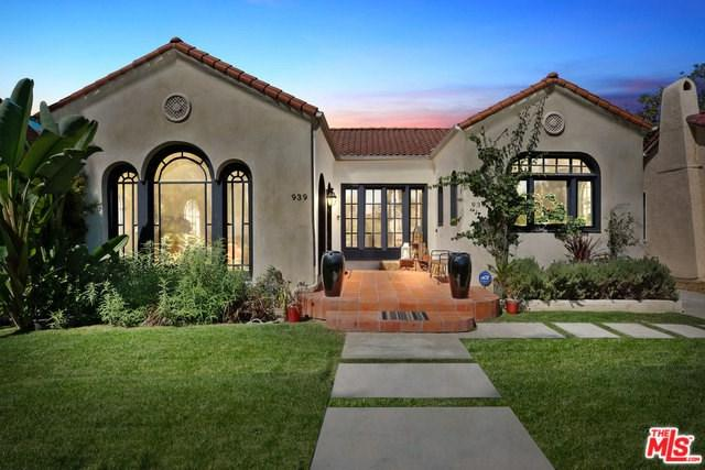 939 S Highland Avenue, Los Angeles (City), CA 90036 (#18387964) :: The Laffins Real Estate Team