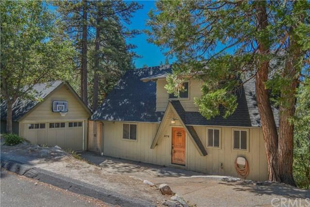 878 Crown Drive, Lake Arrowhead, CA 92352 (#EV18230012) :: The Laffins Real Estate Team