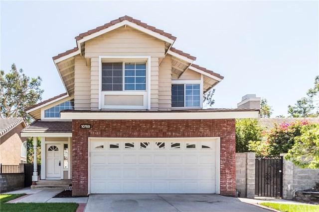10769 Zinfandel Street, Rancho Cucamonga, CA 91737 (#EV18230743) :: Angelique Koster