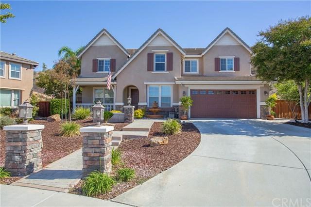 23581 Wickham Lane, Murrieta, CA 92562 (#SW18249356) :: The Laffins Real Estate Team
