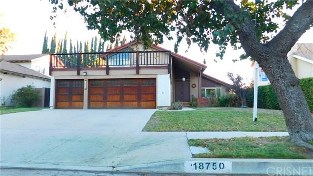 18750 Merridy Street, Northridge, CA 91324 (#SR18270083) :: RE/MAX Masters
