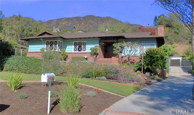 360 Foothill Avenue, Sierra Madre, CA 91024 (#AR18286185) :: Fred Sed Group
